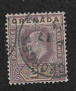 GRENADA SC# 50  F/U 1902