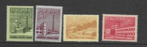Albania 697-700 Oil Refinery MNH cpl. set vf, 2020 CV $22.40