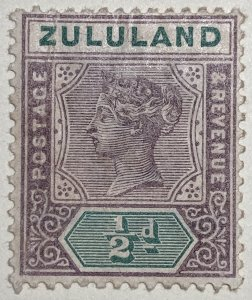 AlexStamps ZULULAND #15 FV Mint