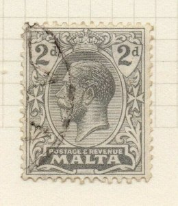 Malta 1921-22 Early Issue Fine Used 2d. 321549