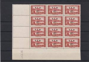 Algeria 1943 Emergency Field Message Overprint Mint Never Hinged Stamps R 18392