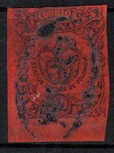 Colombia SC 65 Used 1870 SCV$ 67.50