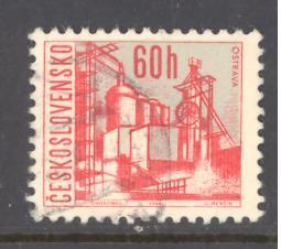 Czechoslovakia Sc # 1348C used (DT)