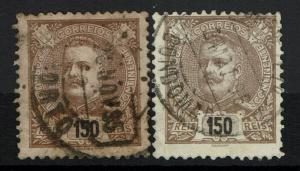 Portugal SC# 127, Used, Two Varieties - Lot 111516