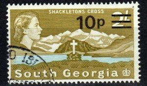 South Georgia #27b   F-VF Used CV $4.00 (X5764)
