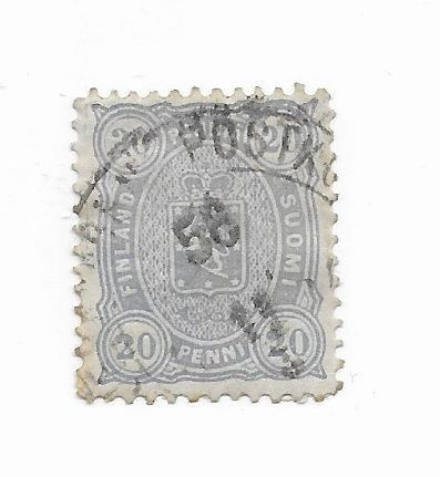 Finland #28 Used - Stamp - CAT VALUE $1.60