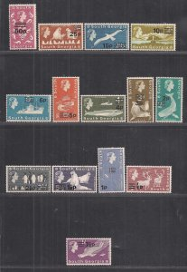 SOUTH GEORGIA SC# 17-30  FVF/MNH