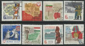 Russia =  Scott # 2899 - 2904 - Used