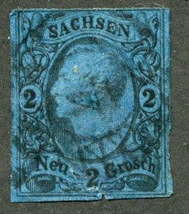 Saxony    SC.# 11 used