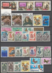 COLLECTION LOT OF # 1960 BURKINA FASO/UPPER VOLTA 33 STAMPS 1928+ CLEARANCE