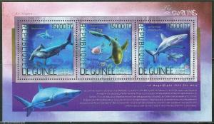 GUINEA  2014 SHARKS SHEET MINT NH