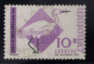 Uruguay Scott 756 Used bird stamp