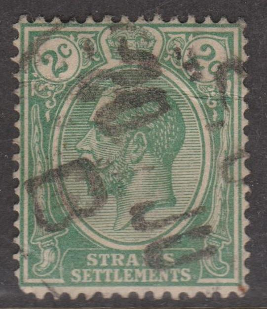 Straits Settlements Sc#180 Used