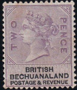 Bechuanaland 1887 SC 12 MLH