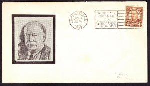 US 685 4c Taft on Roessler First Day Cover (002)