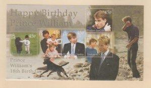 Tristan Da Cunha Scott #668 Stamps - Mint NH Souvenir Sheet