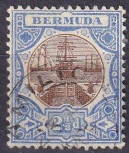 Bermuda #37  F-VF Used CV $9.50 (Z2478)