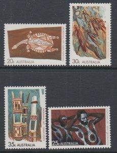 Australia 504-507 MNH VF