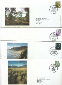 GB 2013 ALL 4 ONE COUNTRY DEFINITIVE FDC. CAPITALS CANCEL £0.88. CHOICE OF 2