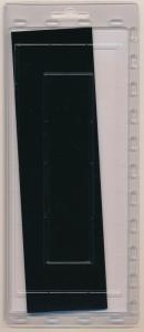 Prinz Scott Stamp Mount 57/215 BLACK Background Pack of 15