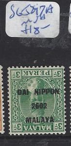 MALAYA  JAPANESE OCCUPATION PERAK  (PP1309B) DN 3C INV OVPT SG J247A  MNH