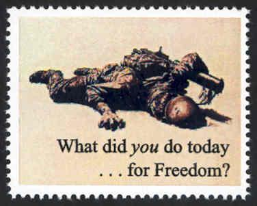 Patriotic WW2 Poster Stamp - What Did You Do? - Cinderella