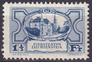 Liechtenstein  #80 F-VF Unused    CV $85.00 (Z3158)