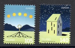 Iceland Sc  1171-2 2009 Europa bklt stamp set mint NH