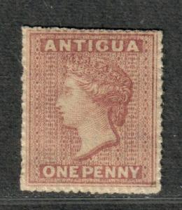 Antigua Sc#2 M/H/VF, Wmk #5 Star, Cv. $135