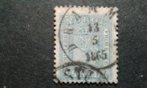 Norway #8 used e208 10814