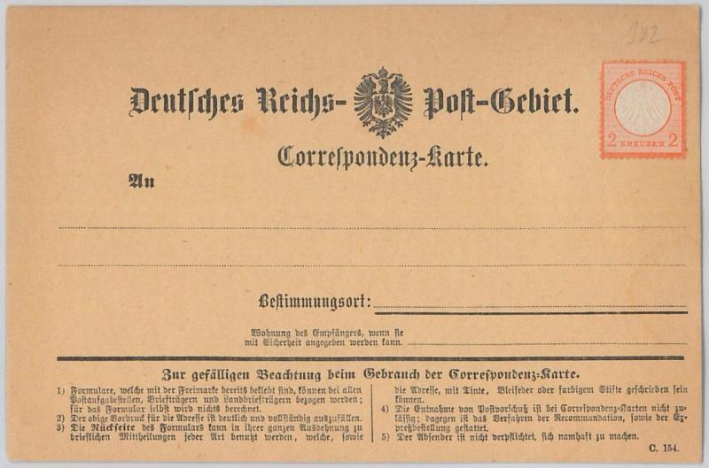 66029 - GERMANY - POSTAL STATIONERY  CARD - Borek I with added stamp MICHEL # 8