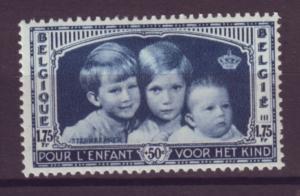 J21307 Jlstamps 1935 belgium hv of set used #b165 prince/princess