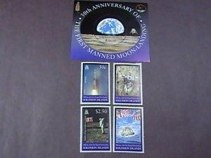 SOLOMON ISLANDS # 875-879-MINT/NEVER HINGED--COMPLETE SET + SOUVENIR SHEET-1999