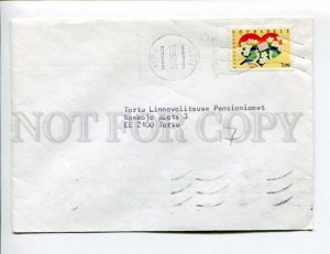 413103 ESTONIA 1993 year Tartu real posted COVER