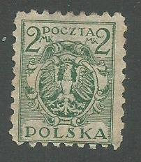 Group Two of 8 Used Stamps From Poland