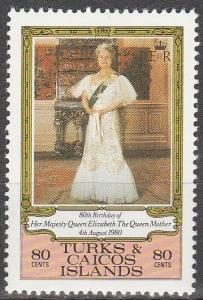 Turks & Caicos #440   MNH  (S6305)