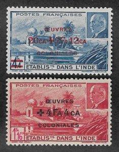 B13B-B13C,MNH French India