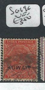 KUWAIT   (PP2704B) ON  INDIA KGV   2 A  SG 19C   VFU