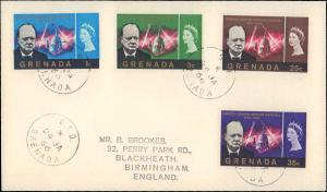 Grenada, Worldwide First Day Cover