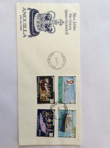 1977 Silver Jubilee First day cover. Not addressed.