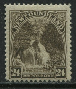 Newfoundland 1924 24 cents mint o.g. hinged