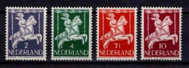 1946 Netherlands Child Welfare Part Set