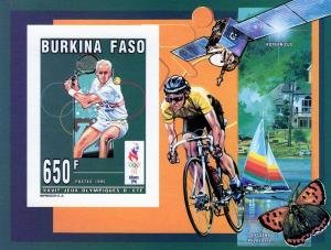 Burkina Faso Olympics 96/Kopernicus Space/Cycling SS Imperf