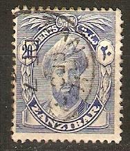 1926 Zanzibar Scott 191 Sultan Khalifa bin Harub used