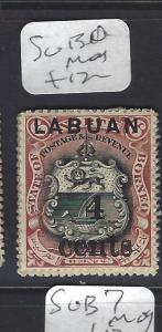 LABUAN (PP1409B)  4C/6C   ARMS LION SG 130   MOG