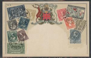 Canada Ottmar  Zieher flat OZ stampcard No.52.