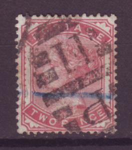 J14041 JLstamps 1880-1 great britain used #81 queen $100.00 scv