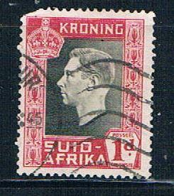 South Africa 75b Used George VI (S0582)