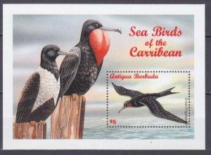 1996 Antigua and Barbuda 2386/B344 Seabirds
