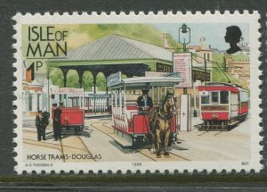 STAMP STATION PERTH Philippines #Isle of Man #347 Railways & Tramways MNH